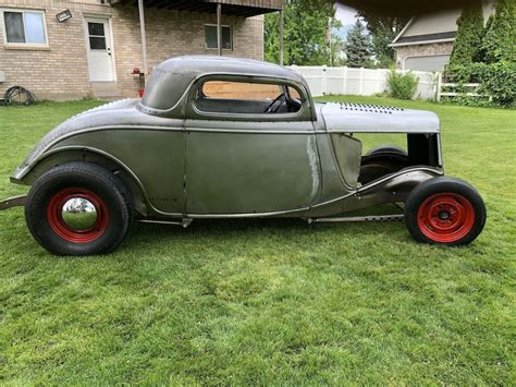 ford coupe  window steel chopped project hot rod
