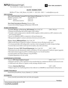 resume experience chronological order or relevance resume education in chronological order