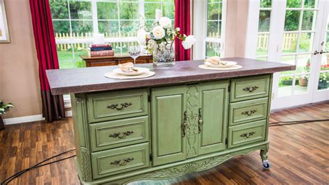 turn dresser into kitchen island 10 repurposed furniture ideas hirerush 9496