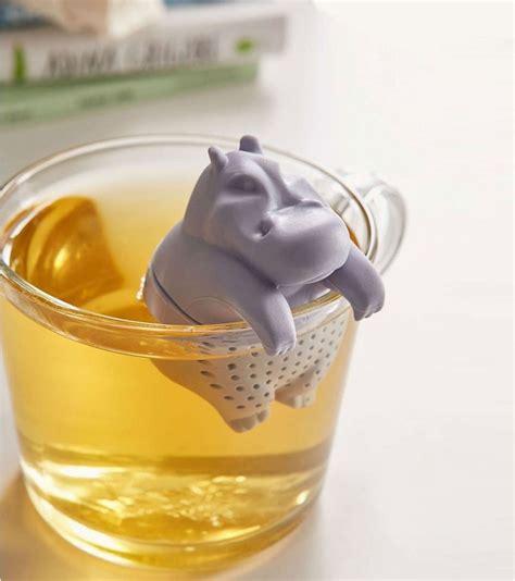 jeux de cuisine de high infuseur à thé hippopotame