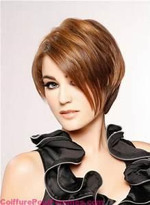 Coloration Cheveux Court : coloration brun caramel sur cheveux courts coiffure tendance femme 2017 ~ Melissatoandfro.com Idées de Décoration