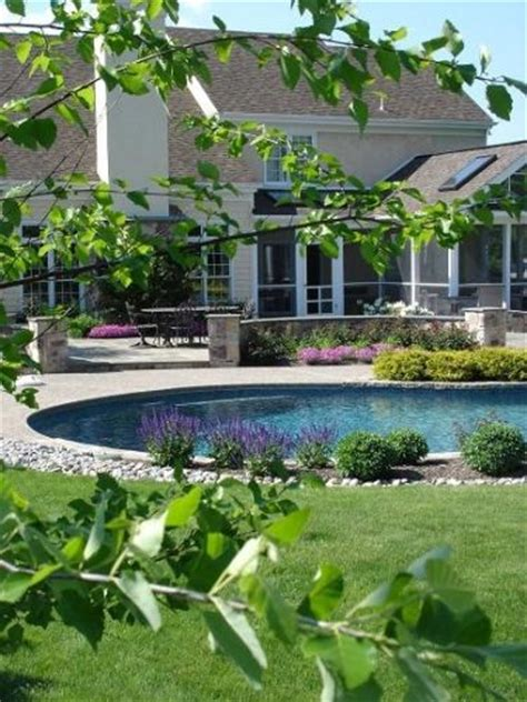 beautiful pool landscaping 17 best images about pools on pinterest pool houses backyards and pool storage