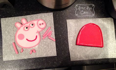peppa pig cake  hill cakes
