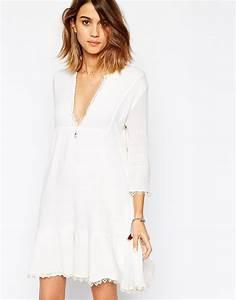 Robe Boheme Courte : robe blanche sur asos wish list pinterest robe ~ Melissatoandfro.com Idées de Décoration