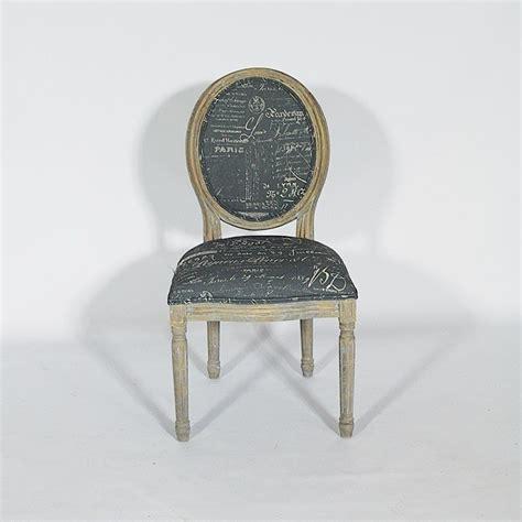 chaise médaillon avec structure en bois à acheter