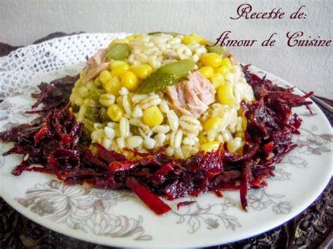 amour de cuisine chez soulef recettes de défi salades de amour de cuisine chez soulef