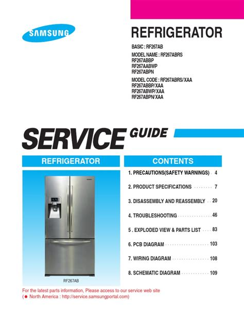 ge  french door refrigerator training service manual