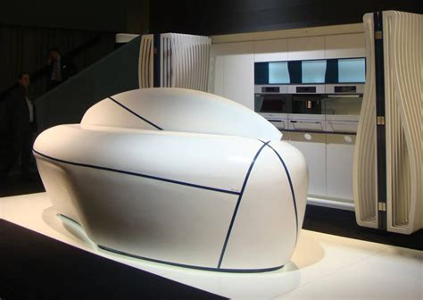 cuisine futuriste la cuisine futuriste hi macs de lg hausys inspiration