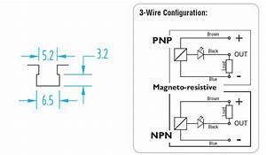 792 Gimatic T-slot Pnp 3-wire Sensor