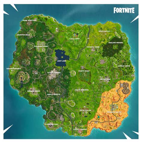 fortnite season   map  fortnite insider