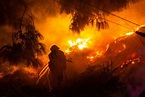 California Wildfire Ravages Across 25 Miles in a Day, 3 ...