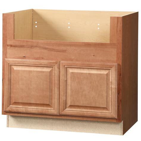 farm sink base cabinet hton bay cambria assembled 36x34 5x24 in farmhouse 7134