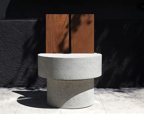 andrea tognon architecture designs iroko concrete chair