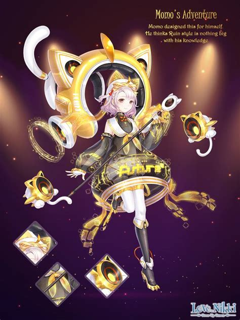 momos adventure love nikki dress  queen wiki fandom