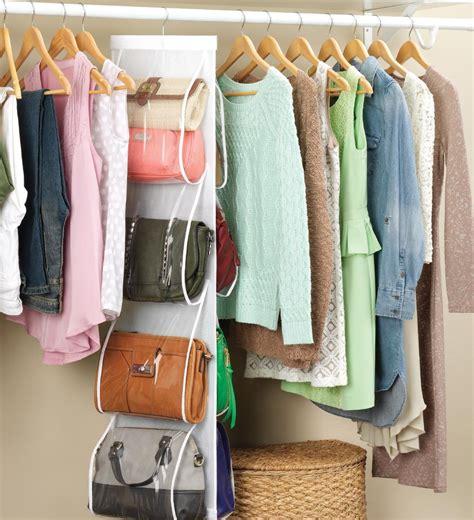 Handbag Hanger For Closet by Handbag File Purse Organizer Rack Closet Display 8 Pocket