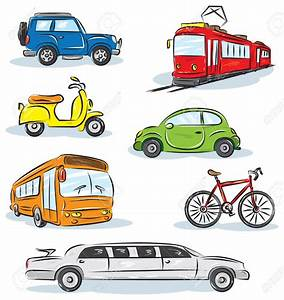 Taxi clipart land transportation - Pencil and in color ...