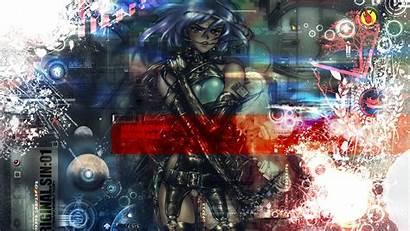 Ghost Shell Shirow Masamune Motoko Kusanagi Anime