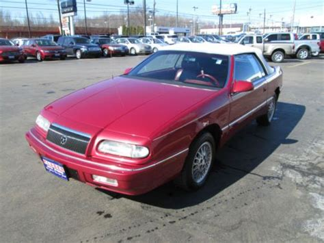 1995 Chrysler Lebaron Gtc Convertible by Find Used 1995 Chrysler Lebaron Gtc Convertible 2 Door 3