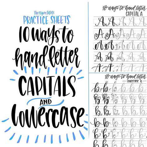 brush lettering alphabet best 25 lettering ideas on calligraphy 22082