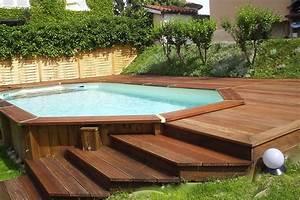 prix piscine en bois mon devisfr With comment fabriquer une piscine en bois