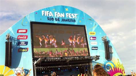 fifa fan fest in rio copacobana anitta funk ass shaking world cup 2014 youtube