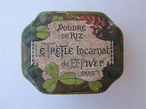 ebay used l t piver 39 le trefle incarnat 39 cosmetic antique powder