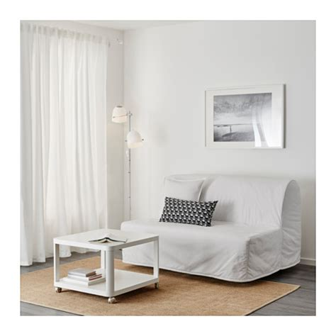 lycksele l 214 v 197 s two seat sofa bed ransta white ikea
