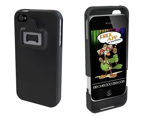 can a iphone be be a headcase iphone 4 integrated can and bottle