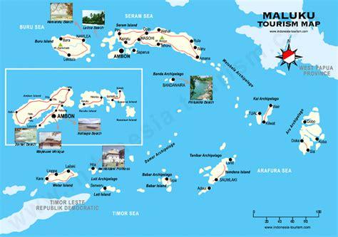 moluccas map peta maluku maluku map