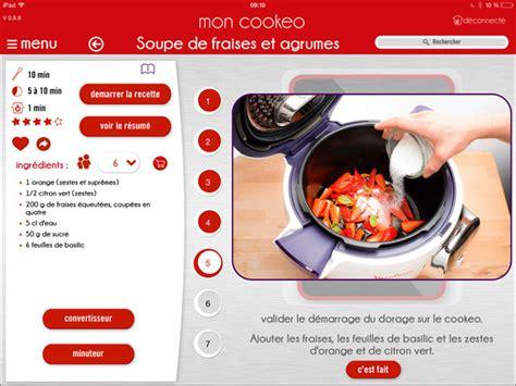 appli cuisine tendance les cuiseurs connectés darty vous