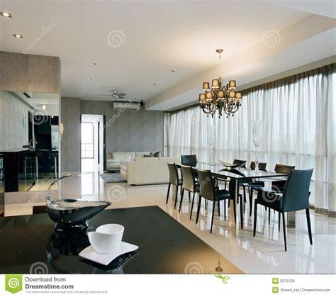 interior design dining area stock photo image