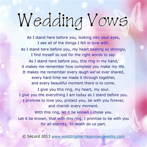 wedding ceremony readings quotes for wedding vows quotesgram