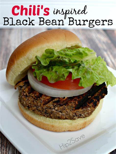 black bean burger recipe chili s inspired black bean burgers hip2save