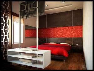 Red, Bedrooms
