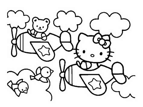 kitty  coloriages  kitty coloriages pour