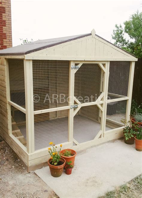 bespoke rabbit runs  pet enclosures pet enclosure