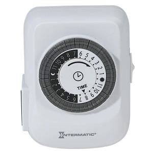Intermatic Amp Plug Heavy Duty Indoor Timer White