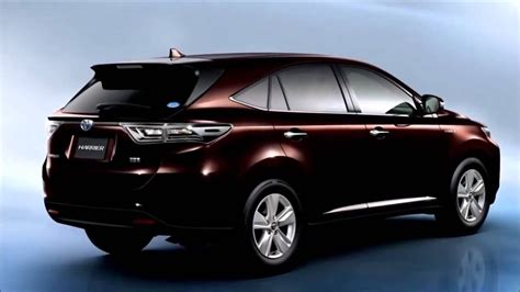 Price Of A Brand New Toyota Harrier 2018  Auto Car Update