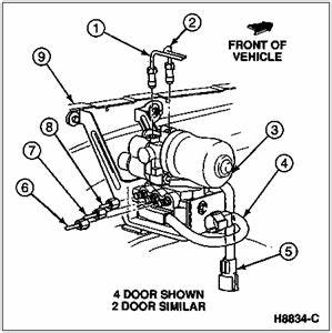 solved im looking for a brake line diagram of all the fixya With wiring diagram ford kelsey hayes abs modules 95 mustang wiring diagram