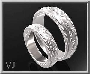 matching wedding bandhis and hers silver matching wedding With matching his and her wedding rings