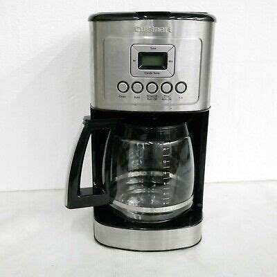 Customer care product assistance international customers Cuisinart 14-Cup Coffee Maker Black DCC-3200 86279078537 | eBay