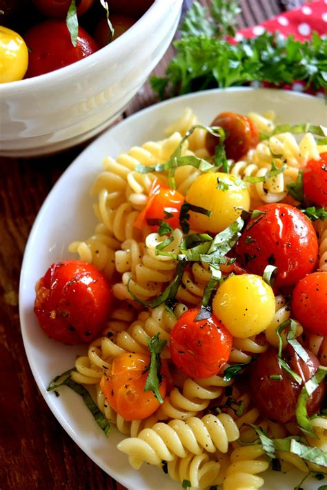 barefoot contessa herb garlic tomatoes pasta dishes