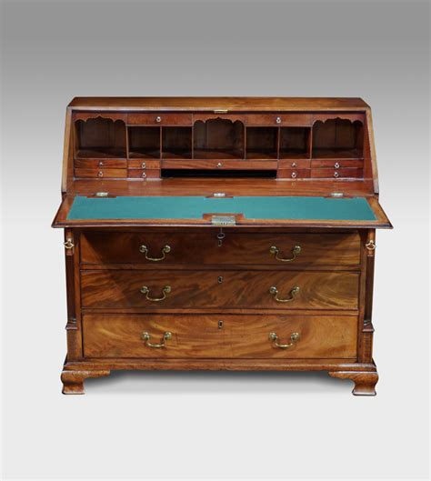 bureau olier vintage antique bureau mahogany bureau antique desk bureau and