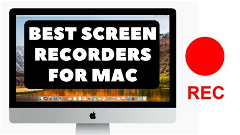 best free screen recorder mac 2018 2019 youtube