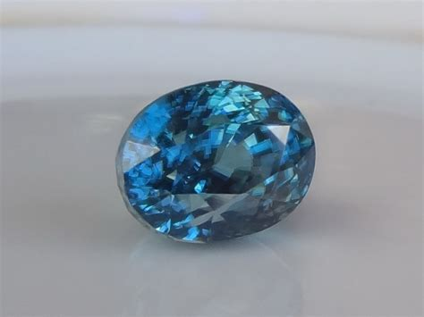Latest Gemstones in our Stock: Natural Blue Zircon 5.68ct