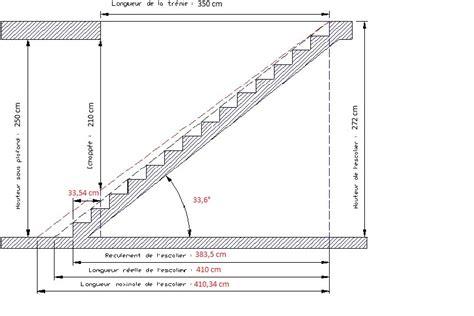 calcul escalier sur mesure construire un escalier la varlope