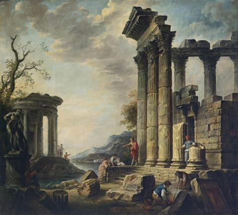 caprizzio bloem живопись классика жанра архитектурный пейзаж xvii xix