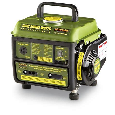 Generator Tool by Buffalo Tools 174 1 000 Watt Sportsman S Generator 177921