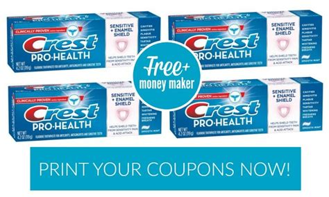 14932 Printable Coupons Crest Toothpaste by Free Crest Pro Health Toothpaste Money Maker