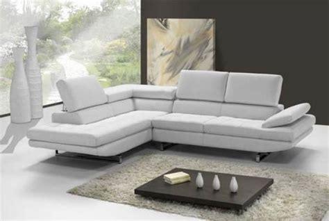 canape cuir angle design photos canapé d 39 angle cuir blanc design